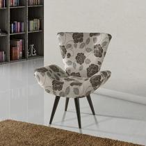 Poltrona Decorativa Pés Palito American Comfort - Luiza