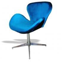 Poltrona Giratória Swan 2038 Lazuli - Markine Mobilier - Colorido - Markine Mobilier