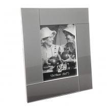 Porta Retrato Lumiere 10X15 cm Prateado Art Image - Art Image
