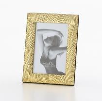 Porta Retrato Rope Dourado - Lyor Classic