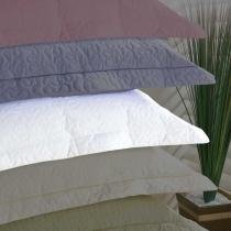 Porta Travesseiro Alure Branco - Markine - Branco - Sulamita
