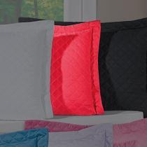 Porta Travesseiro Dream Vermelho - Markine - Branco - Sulamita