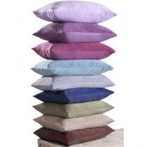 Porta Travesseiro Home Design Plus - 50x70cm - Azul