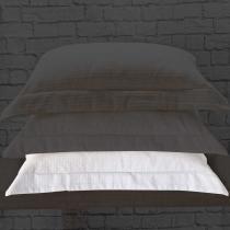 Porta Travesseiro Sublime Branco - Markine - Branco - Sulamita