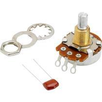 Potenciômetro T/V 500K com Eixo Dividido Split Branco - Fender - Fender