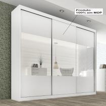 Prada Gold Glass 3 portas - Branco - Branco - Panan