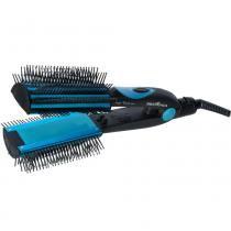 Prancha Britânia Aqua Brush 66003026 Preto e Azul Bivolt - Britânia