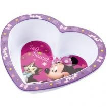 Prato Minie Mouse Coração - Multikids Baby