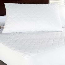 Protetor de Travesseiro Impermeável Branco - Markine - Branco - Sulamita