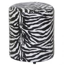 Puff Courino Stay Puff - Round Zebra