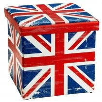 Puff Dobrável Londres com Organizador Guarda Volume 2531 - Mart - Bivolt - Mart