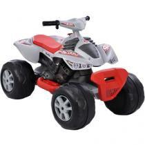 Quadriciclo Infantil Elétrico Super Quad - 3 Marchas Emite Sons Bandeirante