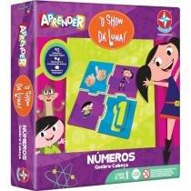 Quebra-cabeça 50 Peças Aprender - Números Show da Luna Estrela