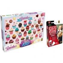 Quebra-Cabeça Cupcakes 150 Peças - Grow + Cola Puzzle Brilhante