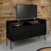 Rack Multiuso Amaro Preto para Tv de 42 Polegadas - Marrom - Estilare