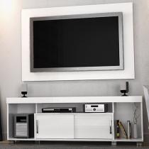 Rack para TV até 50 com Painel Pierre - 2 Portas de Correr - Madetec