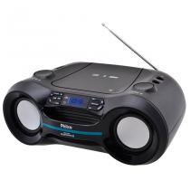 Rádio Boombox MP3/USB Bluetooth PB121BT Preto Bivolt - Philco - Bivolt (Manual) - Philco