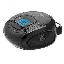 Rádio Boombox MP3/USB Controle Remoto PH80 Preto Bivolt - Philco - Bivolt (Manual) - Philco