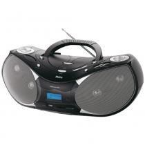 Rádio Boombox MP3/USB Saída para Fone PH229N Preto Bivolt - Philco - Bivolt (Manual) - Philco