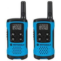 Rádio Comunicador Motorola Talkabout T100BR - até 25km 26 Canais 2 Peças