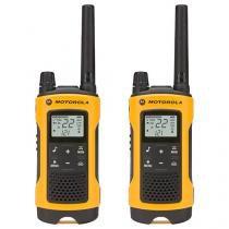 Rádio Comunicador Motorola Talkabout T400BR - até 30km 30 Canais 2 Peças