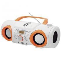 Rádio Estéreo PB130B USB e Controle Remoto Branco - Philco - Bivolt (Manual) - Philco