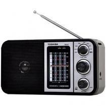 Rádio Portátil com Entrada USB AM/FM 6 Faixas - TR849 Semp Toshiba