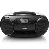 Rádio Portátil Philips AZ330TX/78 CD/USB/MP3/FM/Bluetooth Preto - Bateria - Philips