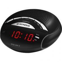 Rádio Relógio AM/FM Display Digital RR-02 - Mondial