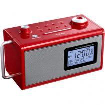 Rádio Relógio Despertador/Alarme AM/FM Display - R5 TEAC