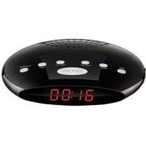 Rádio Relógio Despertador/Alarme FM Display - SP167 Multilaser