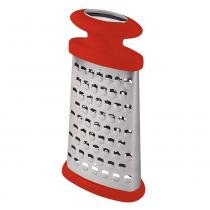 Ralador 2 Faces Soft-Touch Vermelho Aço Inox 25050170 - Tramontina - Tramontina