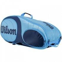 Raqueteira Wilson Team 9 Pack Azul - Wilson
