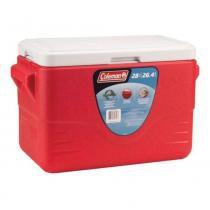 Recipiente Termoplástico 28QT 26,5 Litros Vermelho - Coleman - Vermelho - Coleman