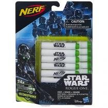 Refil de Dardos 14 Peças Nerf - Star Wars Rougue One - Hasbro
