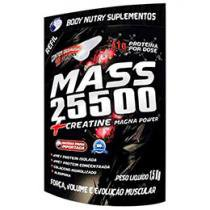 Refil Mass 25500 + Creatine Magna Power 1,5Kg - Baunilha - Body Nutry