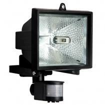 Refletor com Sensor 500W Retangular Bivolt 8903 Preto - Brasfort - Brasfort