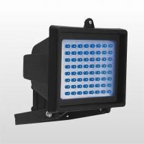 Refletor Sem Sensor Com 60 LedS Azul 6w 6051 Bivolt Preto Key West - DNI