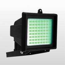 Refletor Sem Sensor Com 60 LedS Verdes 6w 6050 Bivolt Preto Key West - DNI