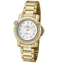 Relógio Champion Passion CN29141H Feminino - Social Analógico Pulseira de Aço Prova d?Água