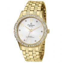 Relógio Champion Passion CN29285H Feminino - Social Analógico Pulseira de Aço Prova d?Água