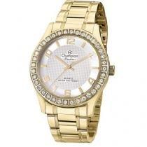 Relógio Champion Passion CN29329H Feminino - Social Analógico Pulseira de Aço Prova d?Água