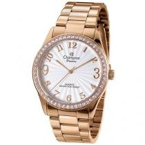 Relógio Champion Passion CN29472Z Feminino - Social Analógico Pulseira Aço Prova d?Água