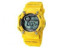 Relógio Cosmos OS 41388 Y Masculino - Esportivo Digital com Cronômetro e Cronógrafo