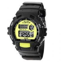 Relógio Cosmos OS41379G Masculino - Esportivo Digital Cronômetro