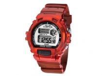 Relógio Cosmos OS41379V Masculino Esportivo - Digital Cronômetro Calendário Prova d?Água