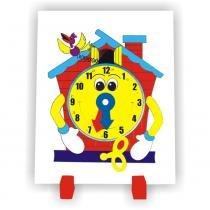 Relógio Cuco em MDF Colorido 1024 - Carlu - Carlu