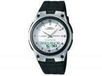 Relógio de Pulso Analógico e Digital Masculino Casio Mundial AW-80-7AVDF