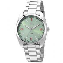 Relógio Feminino Allora Simples Encontro - AL2035FAP/3V Analógico Resistente à Água