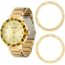 Relógio Feminino Backer 3310145F - Analógico Resistente a Água Troca Aros